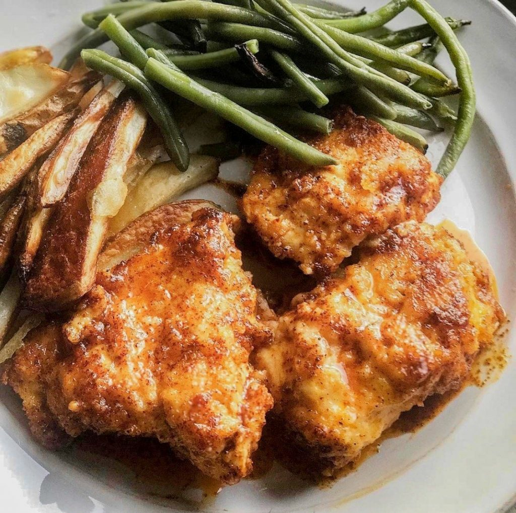 healthier hot chicken recipe